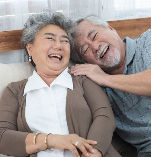 Los Gatos Family Dentistry Smiling Older Couple